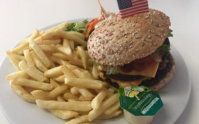 Large California burger