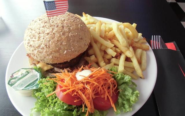 echte Amerikaanse hamburgers